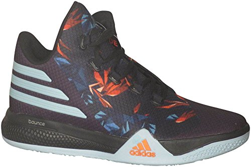 Adidas Heren Light Em Up 2 Basketbalschoen Zwart / Helder Groen / Superoranje