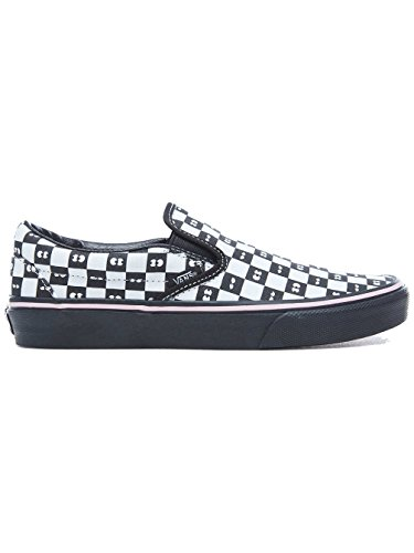 VANS LAZY ON SLIP CHECKERBOARD SNEAKERS NOIR 37 CLASSIC EU OAF Iqcr6I1pw