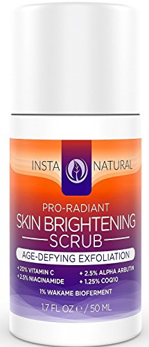 InstaNatural Brightening Anti Aging Facial Scrub