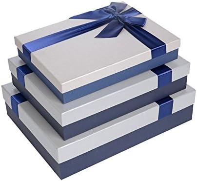 Drasawee Bonita Caja de Regalo Grande Rectangular Perfecta para ...