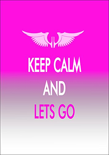 "Disagu Design Case Coque pour Apple iPhone 4s Housse etui coque pochette ""KEEP CALM AND LETS GO"""