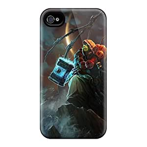 High-quality Durability Cases For Iphone 4/4s(world Of Warcraft Ocean Shaman)