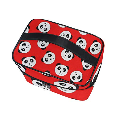 Amazon.com: Cosmetic Bag Smiling Panda - Organizador de ...