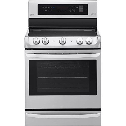 Lg - 6.3 Cu. Ft. Self-cleaning Freestanding Electric With