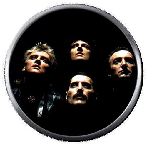 Queen Freddie Mercury Roger Taylor John Deacon Brian May Rock and Roll Hall of Fame 18MM - 20MM Fashion Snap Jewelry Snap ()