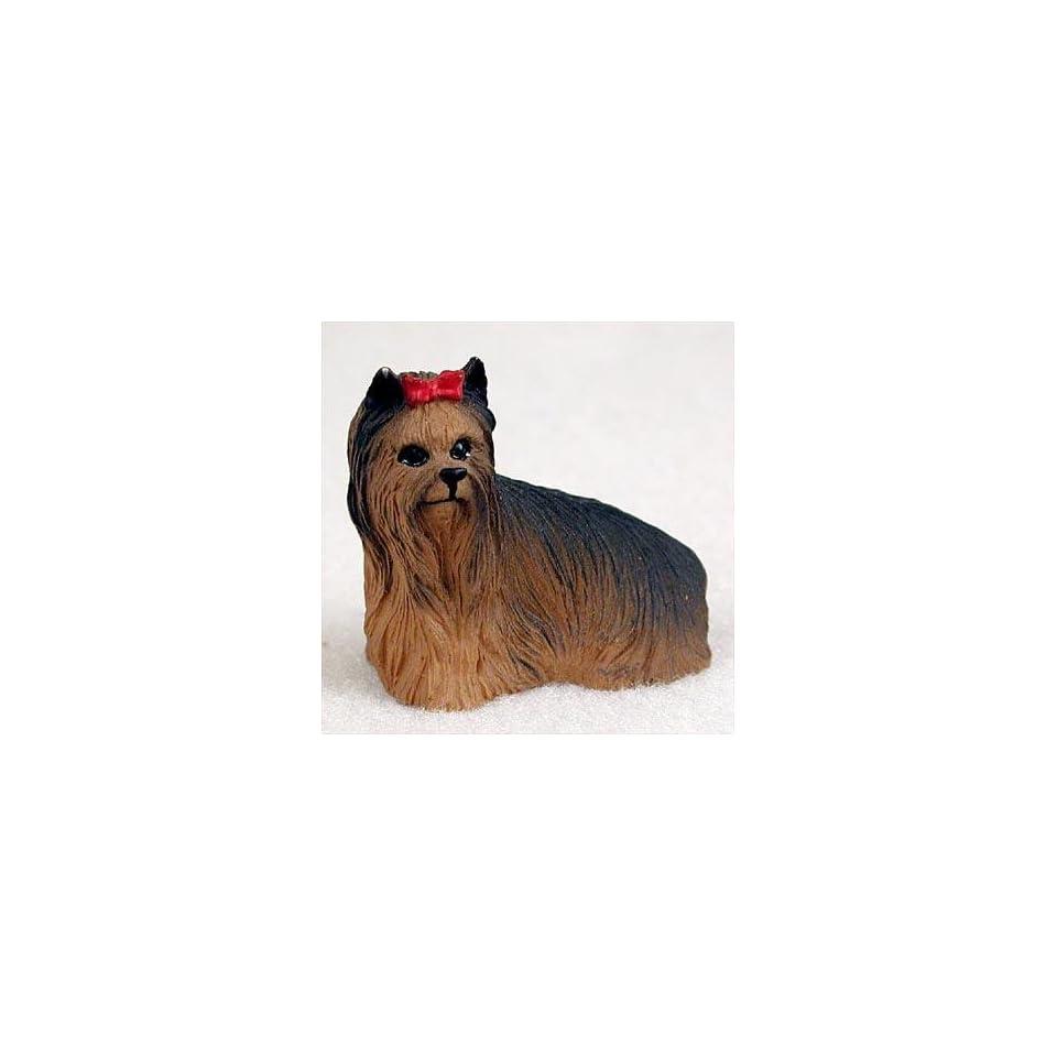 Yorkshire Terrier Miniature Dog Figurine