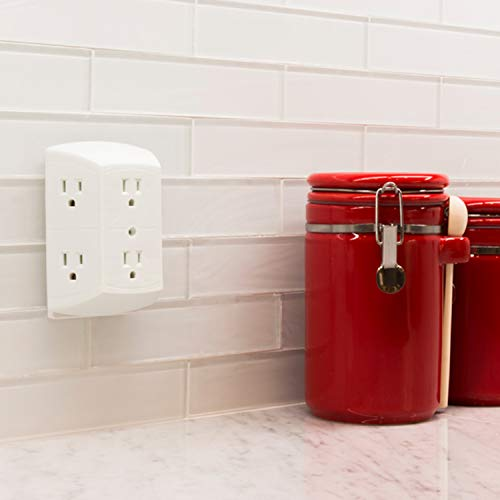Ge Office Home Theater Kitchen Or Bathroom 6 Plug