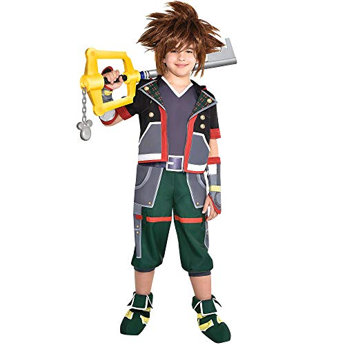 Kingdom Hearts Ii Sora Halloween Town - Party City Sora Halloween Costume for