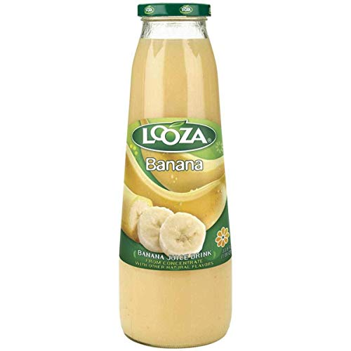 Looza Banana Juice - 33.8 Oz Pack -- 6 Case