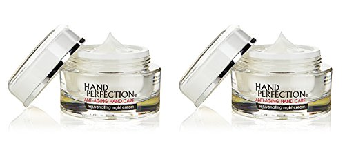 Hand Perfection Anti-Aging Hand Care Rejuvenating Night Cream 1 oz (Pack of 2)