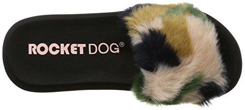Rocket Dog Single, Chanclas Mujer Multicolor (Blush Multi)