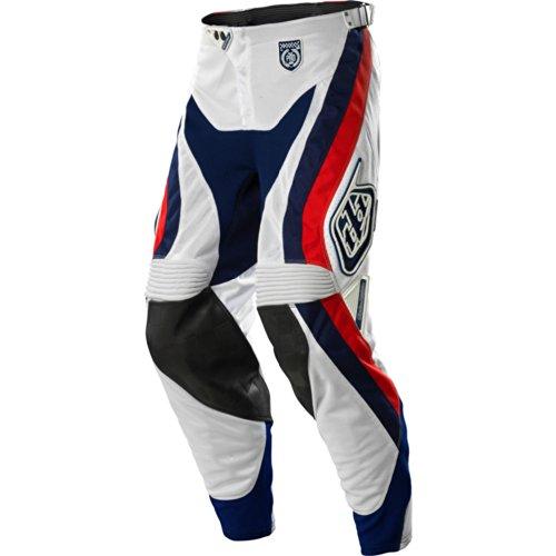 Troy Lee Designs SE Pro Corse Men's Motocross/Off-Road/Dirt Bike Motorcycle Pants - White / Size 32 (Troy Lee Dirt Bike Helmet)