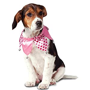 Rubie's Pink Jester Collar Dog Costume