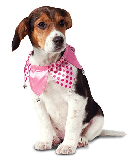 Rubie's Pink Jester Collar Dog Costume - Clown Bell