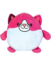 HUGGLE Pets Reversible Hoodie Blanket, Folds into a Stuffed Toy, Ultra Warm, Luxurious and Soft As Seen On TV (Pink Kitty)