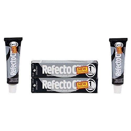 Refectocil Twin Pack Black Cream Hair Dye, 15ml X 2 1X2