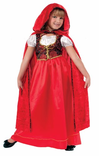 Forum Designer Collection Ill Red Riding Hood Child Costume, Medium/8-10