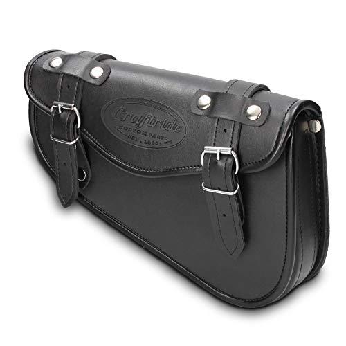 Arizona Noir Droite XL 1200 X Sacoche Cavali/ère pour Harley Davidson Sportster Forty-Eight 48