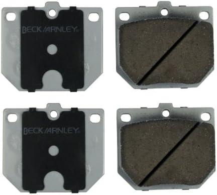 Disc Brake Pad Set Front BECK//ARNLEY 085-1175