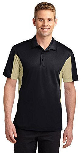Sport-Tek Mens Side Blocked Micropique Sport-Wick Polo,