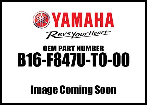 2016-18 YAMAHA GRIZZLY/KODIAK 700 REAR RACK STORAGE CARGO BAG B16F847UT000 BLACK ()