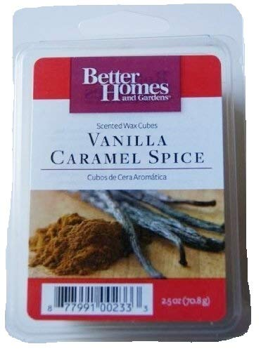 Vanilla Caramel Spice Scented Wax Cubes