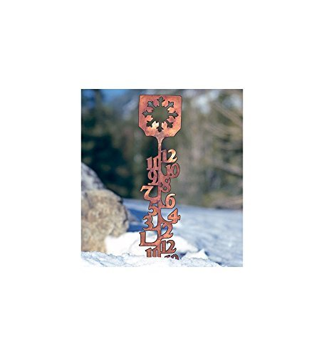 (Wind & Weather RG6005 Snow Gauge, 34 H x 5.5 W, Copper Finish)