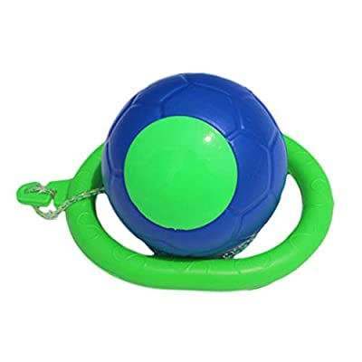 HOMÉVIA Swing Ball,1 pcs Skip Ball Ankle Jumping Ring Jump Ropes Dancing Ball Toy Foot Ball Sport Exercise Fitness Equipment Gift for Children Kids Adult: Sports & Outdoors