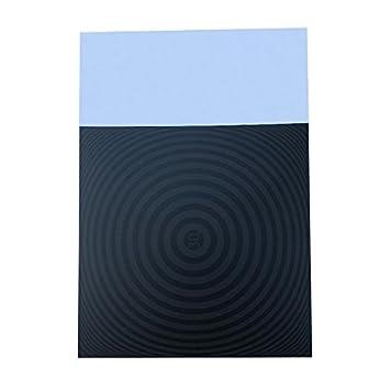 Semoic 1 Pieza 220x220mm para Impresora 3D Hoja de Pegatina Cama ...