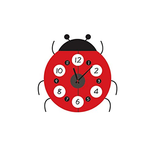 Wall Clocks Creative Ladybug Wall Clock  Wall Clock