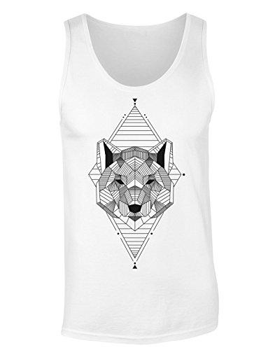 Geometrical Ethnic Tribal Animal T-shirt senza maniche per Donne Shirt