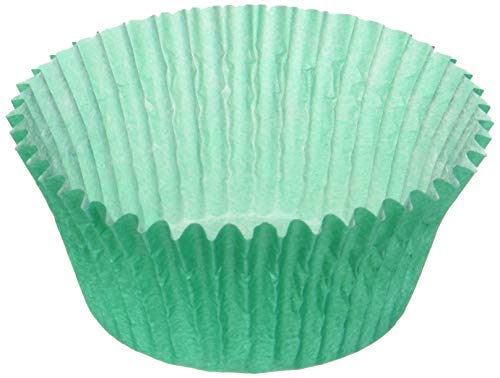 Solid Color Teal Cupcake Liners Baking Cups Standard Size 50 Count]()