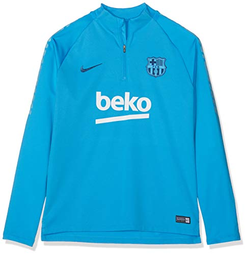 Nike 2018-2019 Barcelona Drill Training Top (Equator Blue) - Kids
