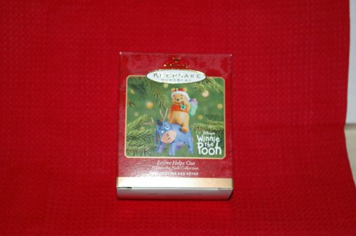 Hallmark Keepsake Ornament Eeyore Helps Out QXD4145 (Eeyore Character)