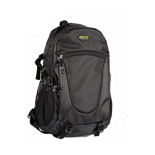 ZC&J 36-55L mochila de gran capacidad, al aire libre ajustable anti-lágrima mochila a prueba de agua, los hombres y las mujeres de moda universal costura mochila,D,32-40L C