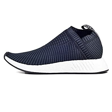 adidas Mens NMD_CS2 Prime Knit PK Core Black/Red Primeknit Size 7.5