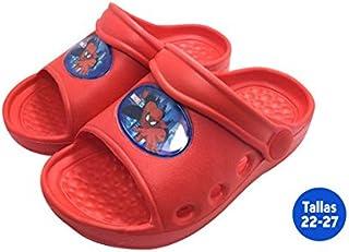 Chaussures été enfant Spiderman Rouge–Taille E2–Taille E2 IDEALCASA KIDS