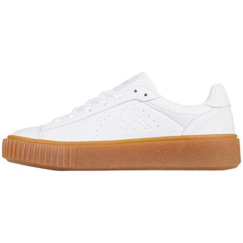 Bianco Sneaker Donna Meseta 1010 1010 White PF White Kappa xqUIwAx