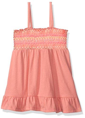 The Children's Place Big Girls' Smocked Top, Pretty Peach, (Girls Pretty Tops)