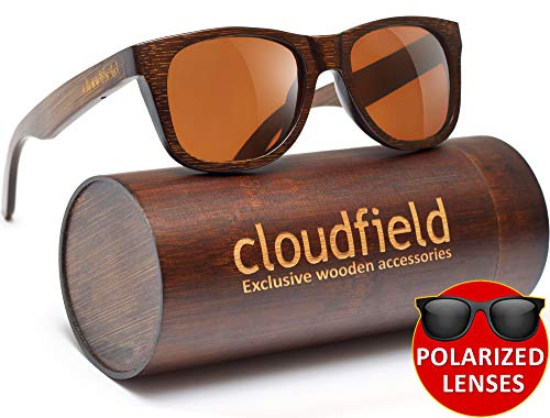 Wood Sunglasses Polarized for Men and Women - Bamboo Wooden Sunglasses (MOST POPULAR)