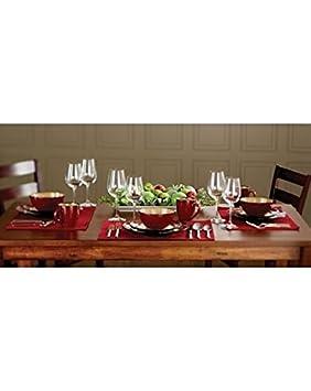 Sabatier Bordeaux Dinnerware Set 16-pc  sc 1 st  Amazon.ca & Sabatier Bordeaux Dinnerware Set 16-pc: Amazon.ca: Home \u0026 Kitchen