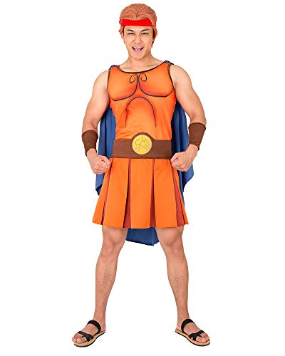 Cosplay.fm Men's Hercules Cosplay Running Costume Halloween Outfit