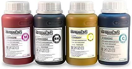 Tinta Ecosolvente Cmyk 250ml Es6500 Magenta: Amazon.es: Oficina y papelería