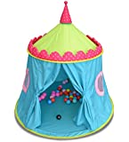 GreEco Luxury Princess Prince Castle PLay Tent, Pop Up Foldable Mongolianyurts, Extra Large