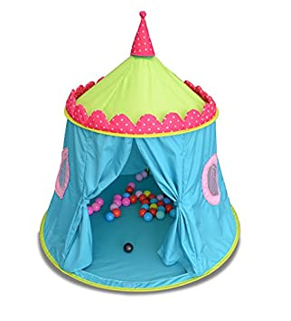 GreEco Luxury Princess Prince Castle PLay Tent Pop Up Foldable Mongolianyurts Extra Large  sc 1 st  Amazon.com & Amazon.com: GreEco Luxury Princess Prince Castle PLay Tent Pop Up ...
