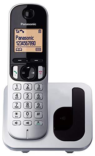 "TELÉFONO INALÃMBRICO DECT PANASONIC KX-TGC210SPB PLATA - IDENTIFICACIÃ""N LLAMADAS- BLOQUEO NÚMEROS NO DESEADOS - PANTALLA LCD RETROILUMINADA 4.1CM"