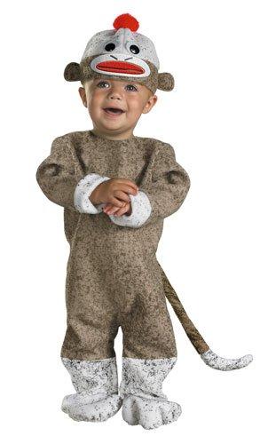 [Sock Monkey costume, 12-18 months] (Halloween Costumes Infant Boy)