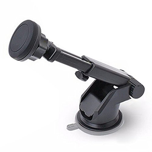 KISENG 2 in 1 Universal Magnetic Stand Suction Cup Car Air O
