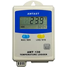 AMTAST Temperature Data Logger, with Mini USB interface, Switchable with MAX / MIN Records, Portable Thermometer Meter, Temp Data Logger Recorder