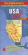 Carte routière : Westliche USA, N° 47 par Hildebrand